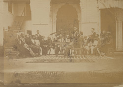 Urdu entrance class, (?)Canning College, Lucknow